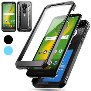Case For Motorola Moto E5 Plus Hybrid Shockproof Drop Protective Cover Ebay