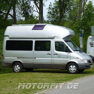 Stromerzeugung Reisemobil- & Caravan-teile Frank 100w 12v Solar Spar-set Solaranlage Autark Für Sprinter James Cook W903 Ab 2004
