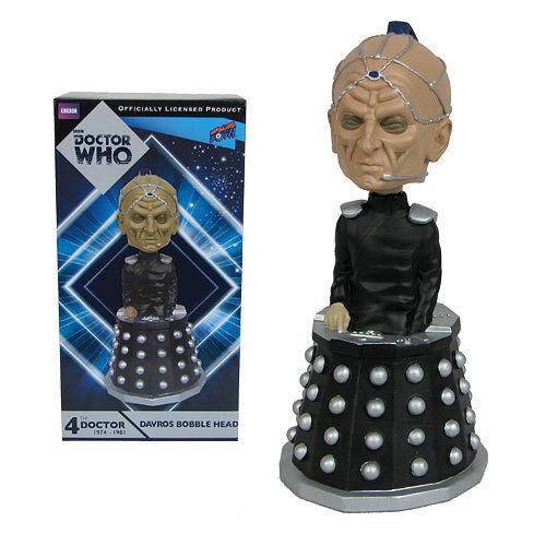 Doctor Who 4th Davros Bobble Head Bif Bang Pow 012822