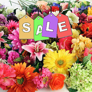 Super sale clearance artificial flowers job lot wholesale from 99p image is loading super sale clearance artificial flowers job lot wholesale mightylinksfo