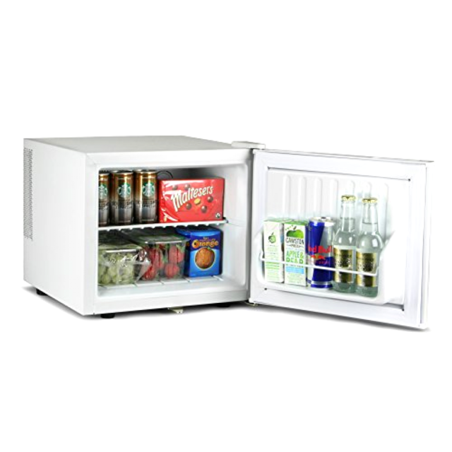mini fridge tv stand
