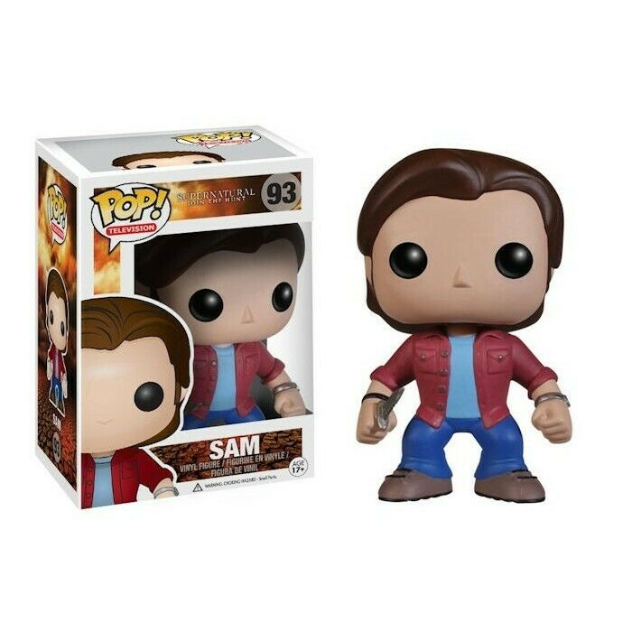 FUNKO POP CULTURE SUPERNATURAL SAM SAM SAM VINYL FIGURE NEW  3f4ee7
