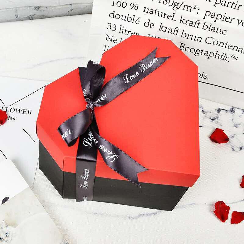 Surprise Explosion Box DIY Photo Album Birthday Anniversary Heart Christmas Gift