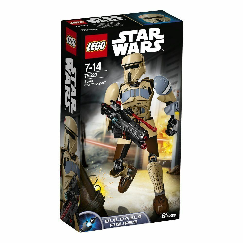 LEGO 75523 Star Wars Scarif Stormtrooper buildable Pronta Consegna fast shipment