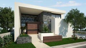 Preciosa Casa de Lujo con Recámara Principal en Planta Baja en Privada Silvano