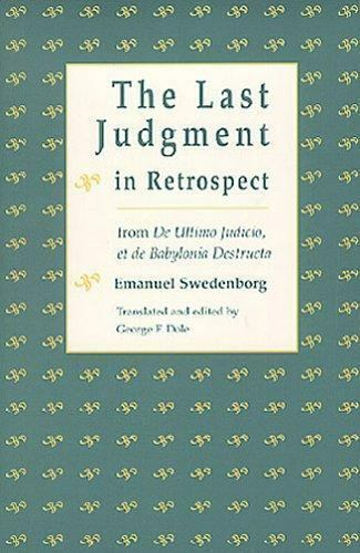 Last Judgment in Retrospect by Emanuel Swedenborg