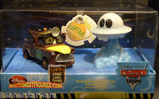 Disney Pixar CarsToons Box Set - Unidentified Flying Mater & UFO (2010 ORIGINAL)