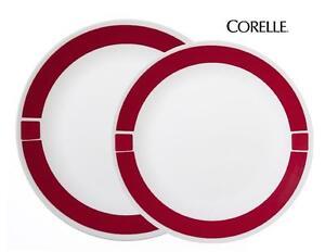 1 Corelle URBAN RED Choose: 10 1/4\
