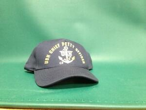 Details about USN Chief petty Officer Navy Hat & Ball Cap