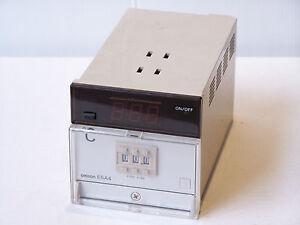 NEW-OMRON-E5A4-R2FP-TEMPERATURE-CONTROLLER-100-110-200-220VAC-NOS-RRP-470