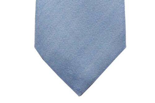 Battisti Tie Soft sky blue pure wool