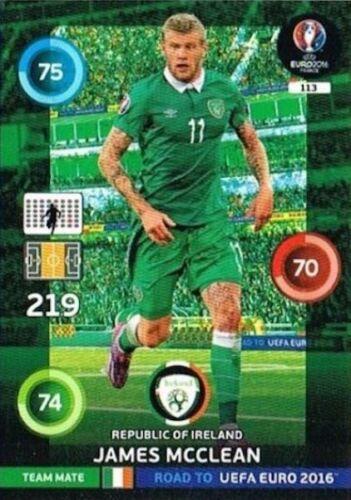 equipo Mates 82-132 Panini Adrenalyn Xl camino de la UEFA Euro 2016 Trading Cards