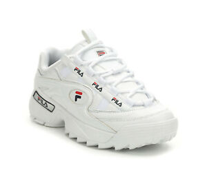 Fila-Men-039-s-D-Formation-Sneakers-1CM00489-125-White-Navy-Red