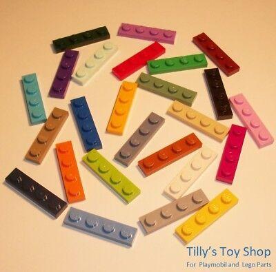 Lego Pick a Colour Twelve 1x2 Stud Palisade Bricks ID 30136 NEW