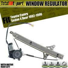 1992 1993-96 Window Regulator w// Motor for Toyota Camry 4 Door Front Driver Side