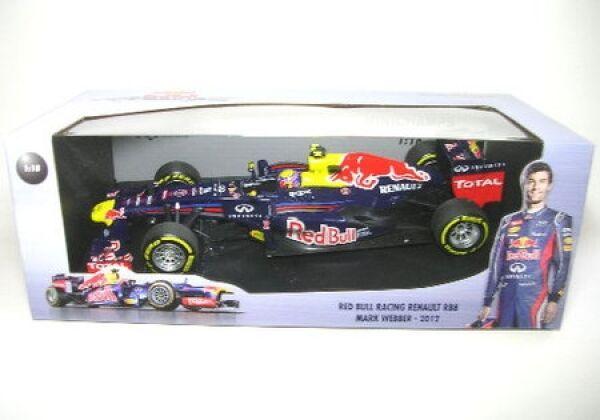 rosso Bull Racing Renault rb8 n. 2 M. Webber formula 1 2012