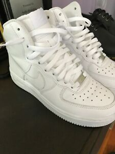 timeless design cac20 6d4c7 Details about Nike Air Force 1 08 High White
