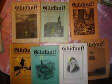 """1 Heft  GLÜCK AUF/"""" Zeitschrift des Erzgebirgsvereins-Jahrgang  1930"""