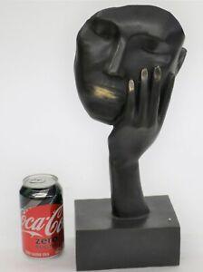Mascara-Escultura-Salvador-Dali-Homage-Bronce-Moderna-Descansando-Oferta