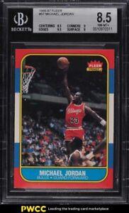 1986-Fleer-Basketball-Michael-Jordan-ROOKIE-RC-57-BGS-8-5-NM-MT