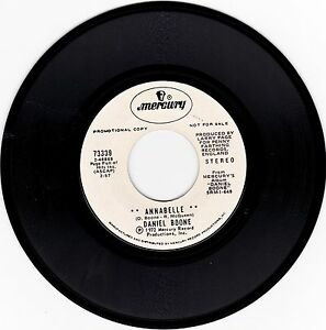 DANIEL-BOONE-gt-034-ANNABELLE-034-034-SLEEPYHEAD-034-gt-PROMO-7-034-VINYL-45-RECORD-gt-STEREO-gt-EX