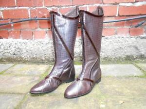 MIMCO-leather-pull-on-boots-size-38-BRAND-NEW