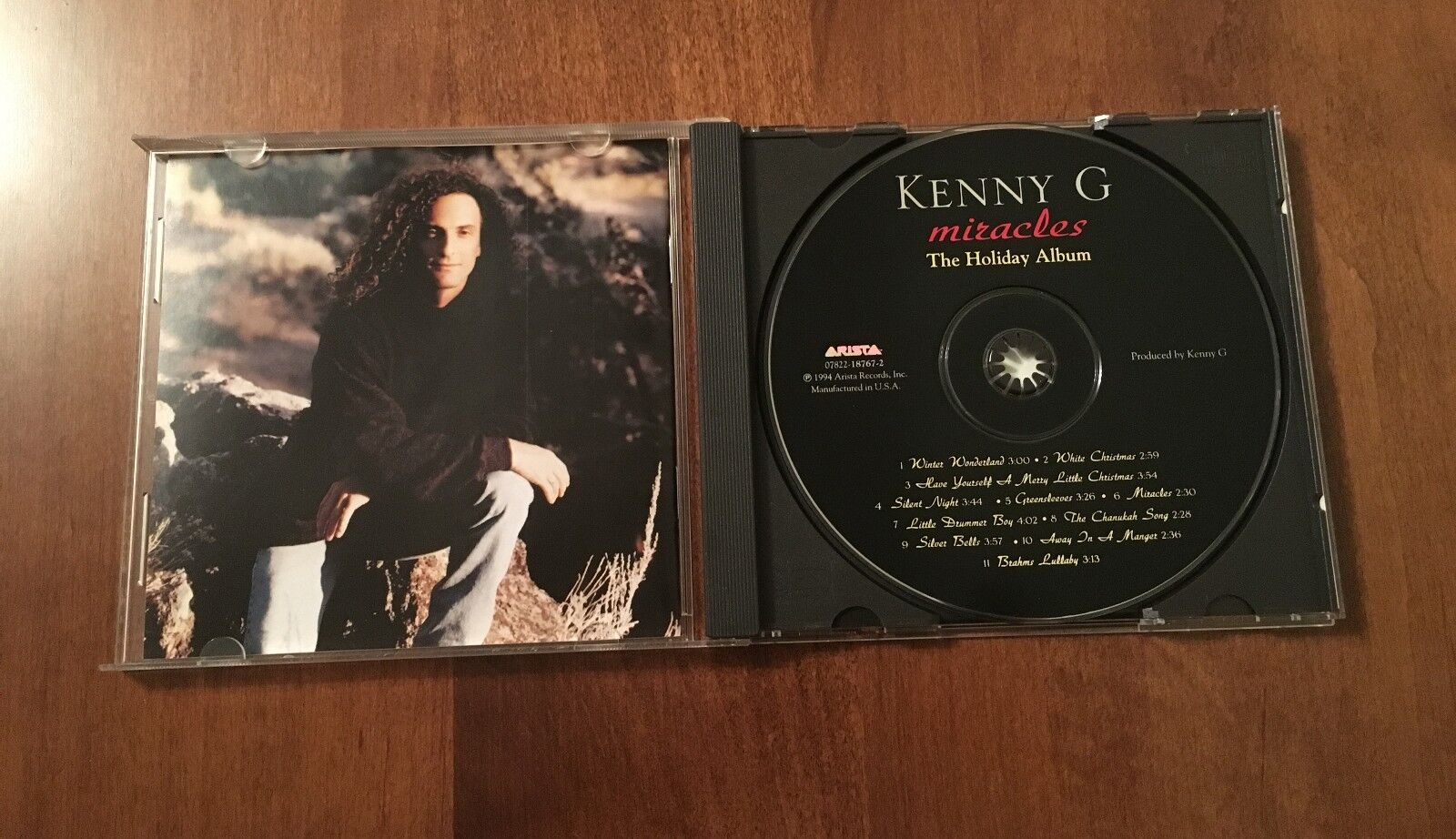 Miracles: The Holiday Album by Kenny G (CD, Oct-1995, Arista)   eBay