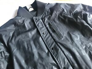 Details about Nike Cool Black Bomber Jacket Size 3638 or S show original title