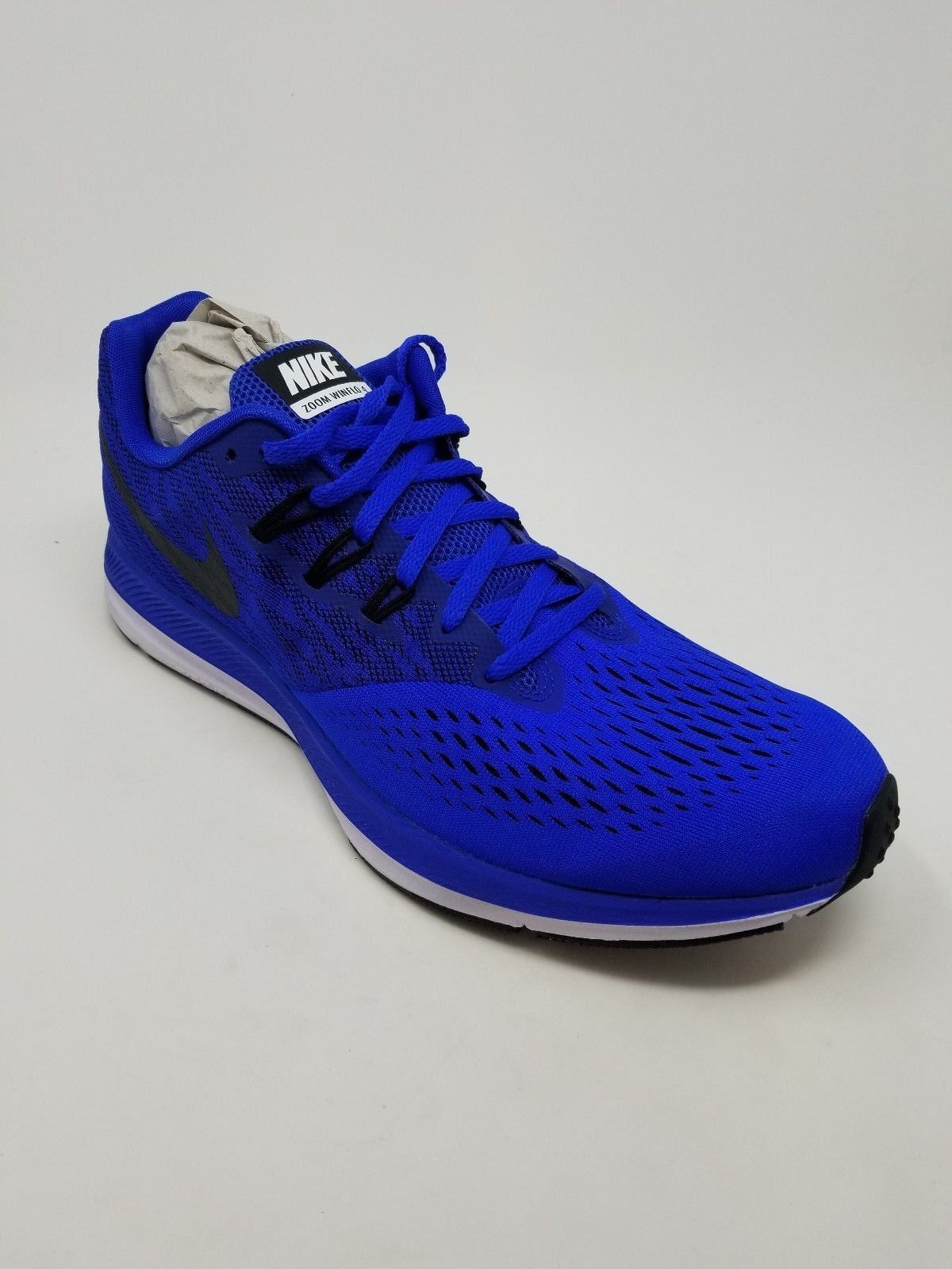 650 Nike Men's Zoom Winflo 4 Running shoes, bluee Size 13 M