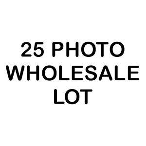 25 Photo Wholesale Lot - 8X10 Non-COLORIZED Photos