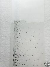 Hotfix Bügelbild Strass traumhafte Borte Jacke - Saum Umhang Vorhang 120404