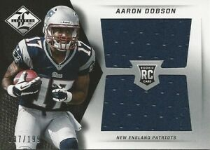 2013 Panini Limited Aaron Dobson RC Jersey #/199 New England ...