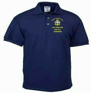 USS-OREGON-SSN-793-SUBMARINE-NAVY-EMBROIDERED-LIGHT-WEIGHT-POLO-SHIRT