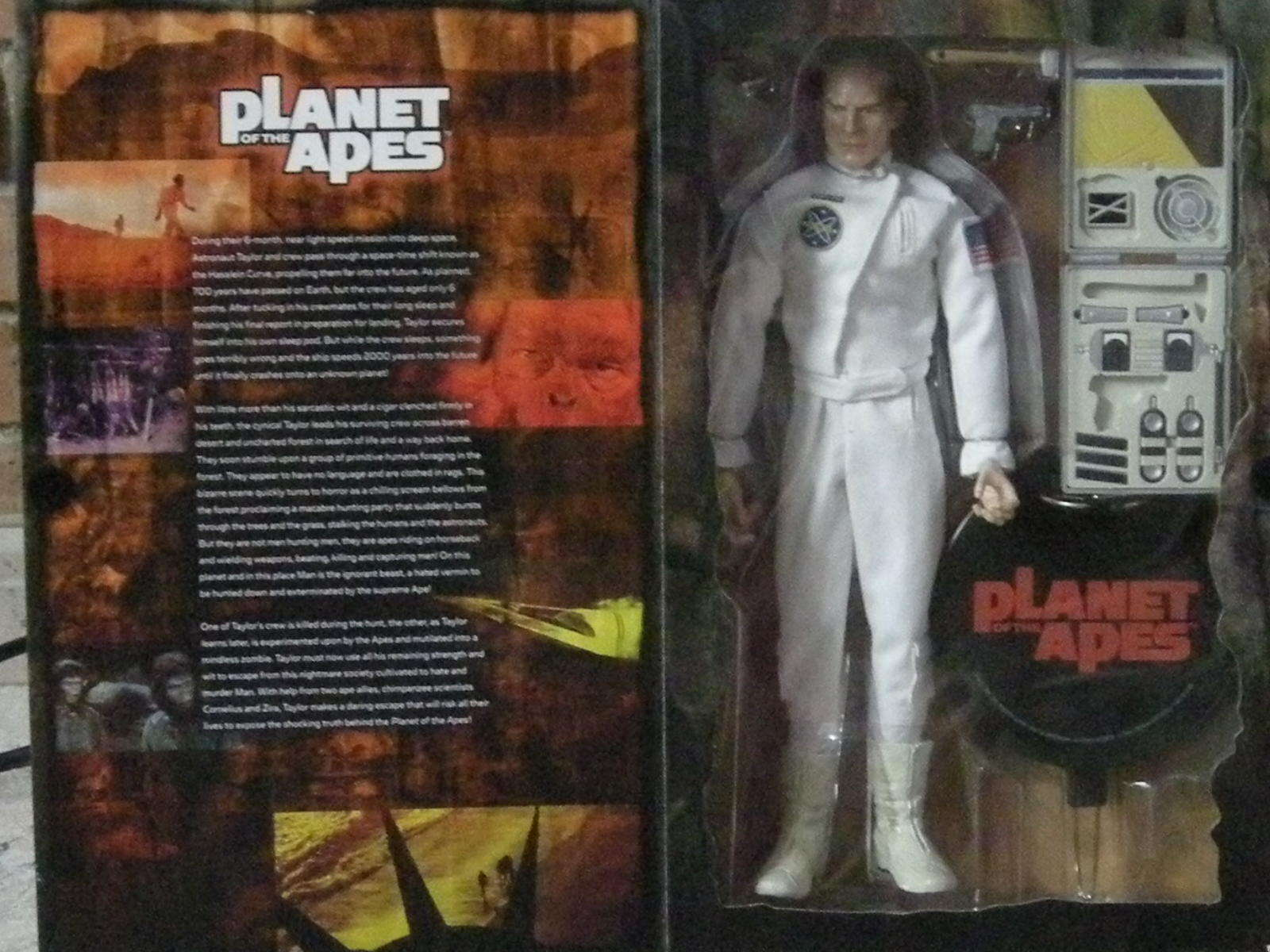 FIGURA PLANET OF THE APES PLANETA DE LOS SIMIOS  TAYLOR FIGURE NUEVA nouveau  nous fournissons le meilleur