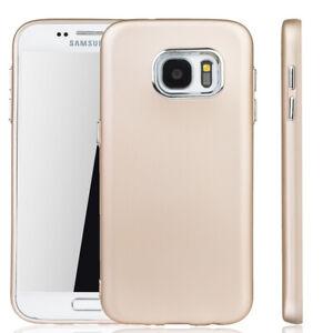 Samsung-Galaxy-S7-Funda-Estuche-Movil-Funda-Protectora-Carcasa-Oro