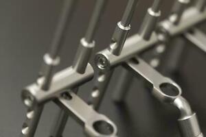 New-Solar-Tackle-P1-Titanium-Adjustable-Snag-Ears-Bars-P1SB-Carp-Fishing