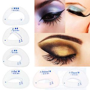 Plantilla-de-Ojos-Cejas-Sombra-de-Ojos-6Pcs-Modelos-plantilla-Shaper-Belleza-Maquillaje-Herramienta