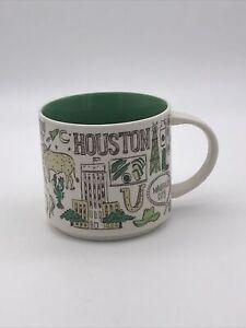 Starbucks Houston Been There Mug 14oz