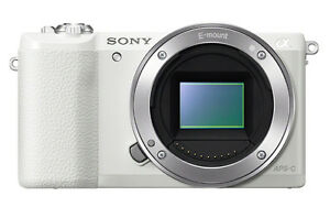 sony ilce 6000. image is loading sony-ilce-6000-alpha-a6000-camera-white-body- sony ilce 6000 i