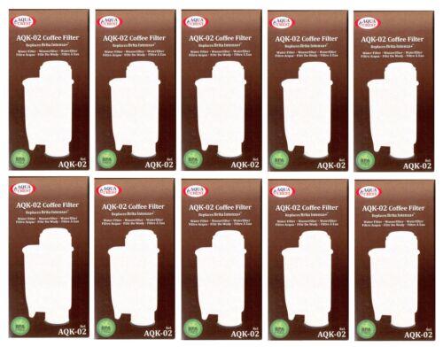 10 X Filtre Cartouche aqk02 pour Philips Saeco ca6702//00 Intelia remplacer Intenza