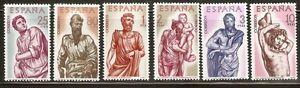 ESPANA-1962-BERRUGUETE-EDIFIL-1438-3-MNH