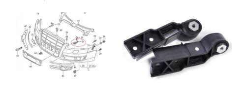 4F0807772 set fissaggio staffa paraurti dx = sx Audi A6 C6