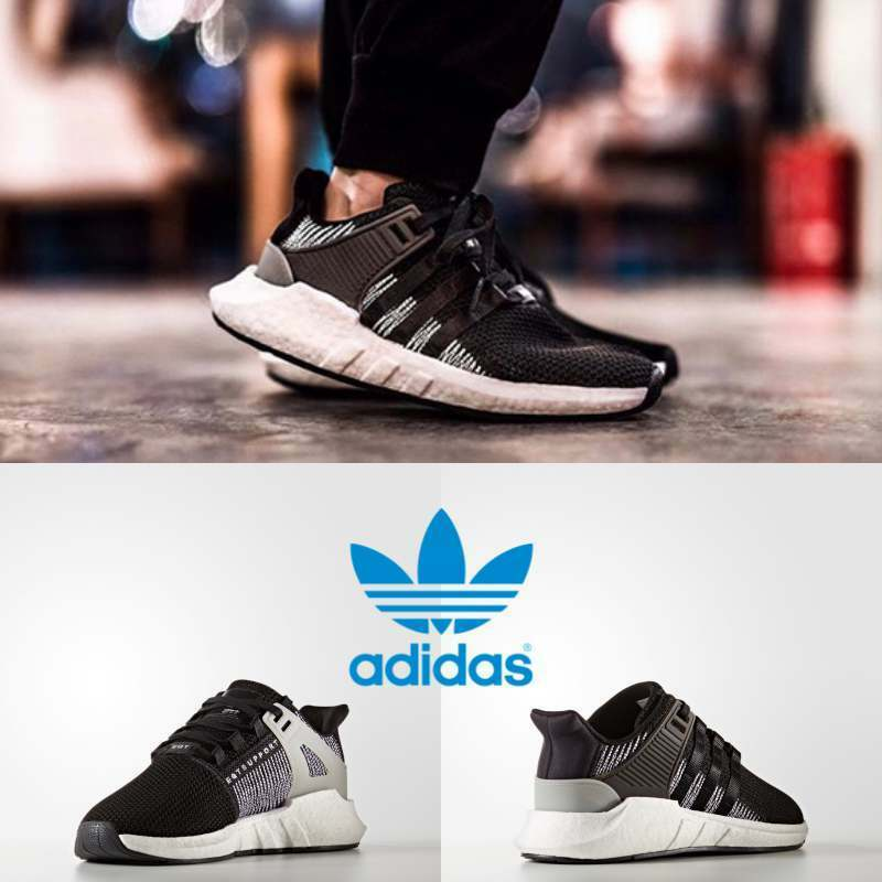size 40 57b34 b9777 ... available 0c7a0 56ce0 Adidas Mens Womens Original EQT Support 9317  Sneakers Black BY9509 SZ 4- ...