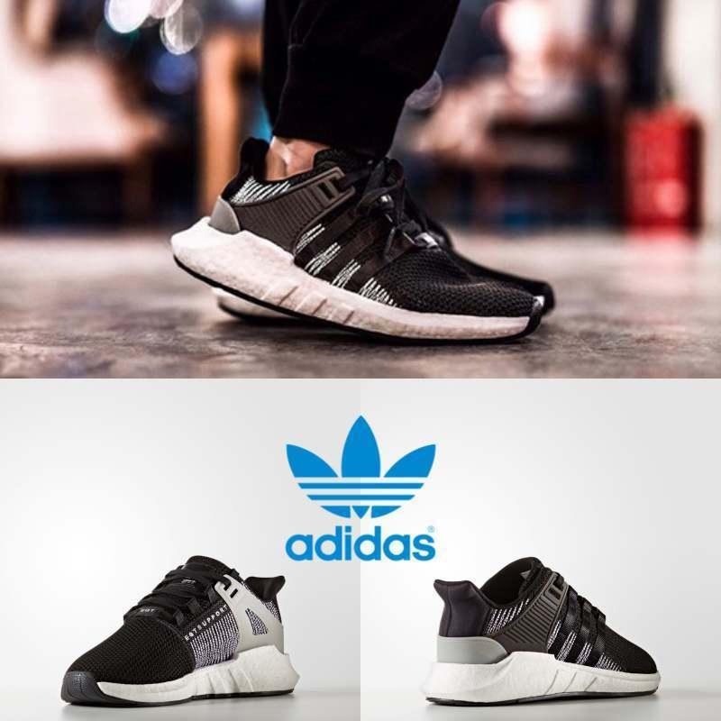 Adidas Men's Women's Original EQT Support 93 17 Sneakers Black BY9509 SZ 4-11