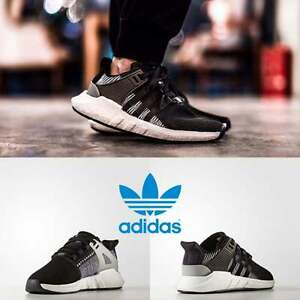 Adidas Men s Women s Original EQT Support 93 17 Sneakers Black ... e6d8dba1dc