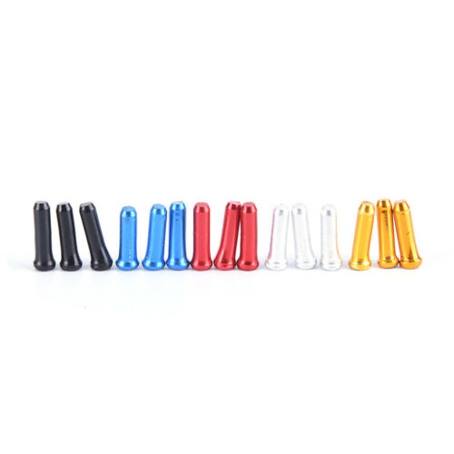 30Pcs Bicycle  Brake Wire End Core Cap Cable Aluminum Cover Gear Bike Parts O TG