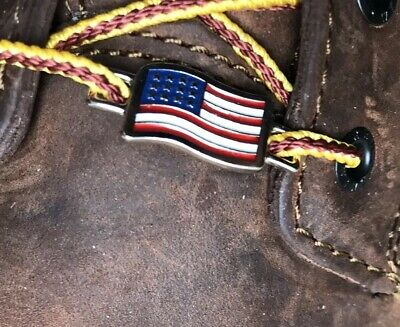 Red Wing Shoe Co. USA American Flag