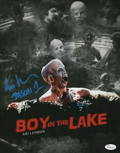Ari-Lehman-Signed-8x10-Photo-Friday-the-13th-Jason-Voorhees-Autograph-JSA-COA
