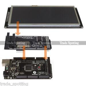 SainSmart-Mega2560-R3-7-034-480x800-Tft-Lcd-Shield-ampliar-Board-Para-Arduino