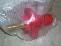 Hubbell Hblfrsr Single Pole Female Recept. Stud Terminal Red In Pak
